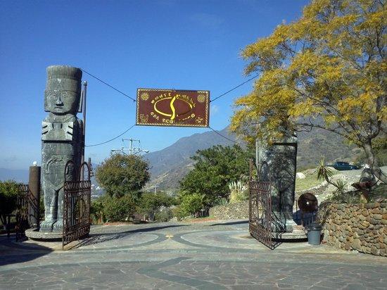 Monte Coxala Spa: Hotelgeände