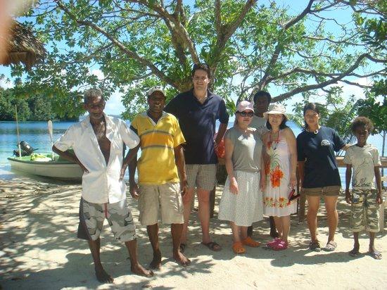 Nugu Beach Resort: the wonderful staff at nugu