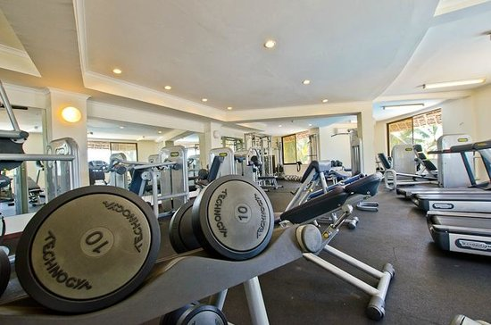 Hotel White Sands - The Beach Resort: Fitness Centre