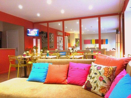 Hotel Brimer : Hall réception