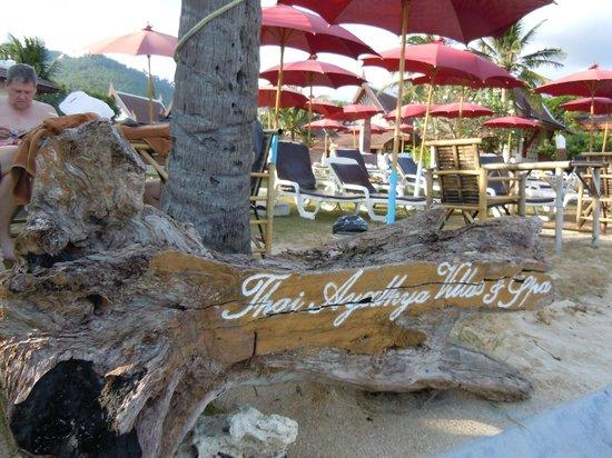 Thai Ayodhya Villas & Spa: Depuis la plage