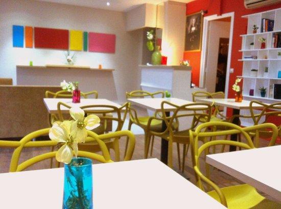 Hotel Brimer : Hall Petits déjeuners