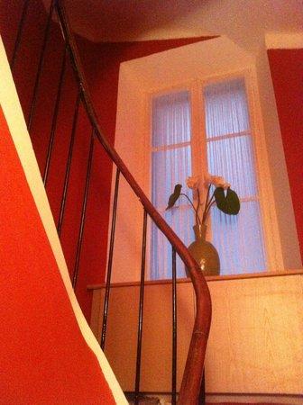 Hotel Brimer : Escaliers