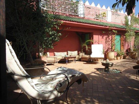 Ryad Bahia Chambres sur terrasse
