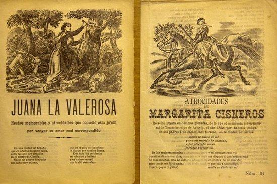Museo del Bandolero: Romances sobre mujeres bandoleros