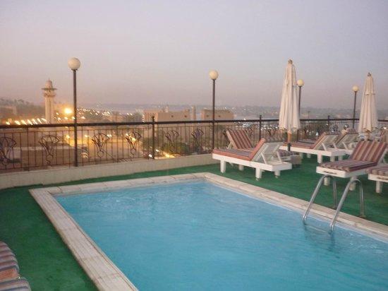 Susanna Hotel: terraza