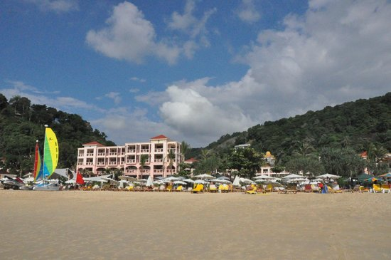 View of Centara Grand from the Karon Beach