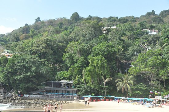 Karon Beach:                   View down the beach