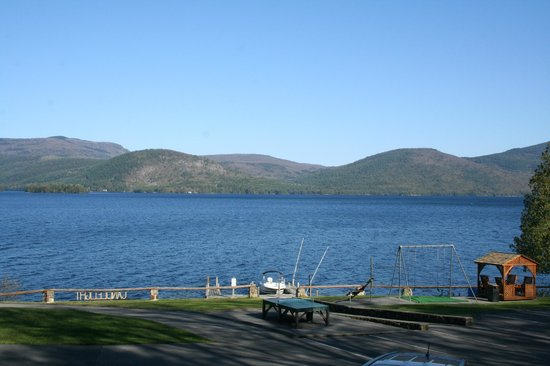 Candlelight Cottages LLC on Lake George: View from one bedroom lakeside cottage