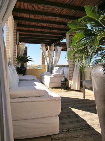 Roof Terrace - Riad Kheirredine