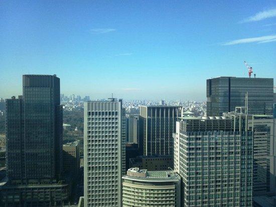 Shangri-La Hotel, Tokyo: 37階クラブフロアからの眺望