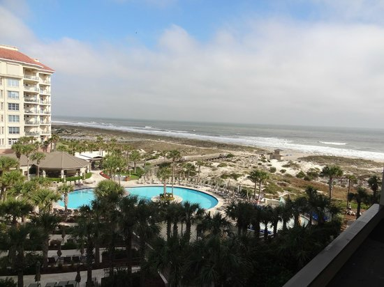 The Ritz-Carlton, Amelia Island:                   View from my room