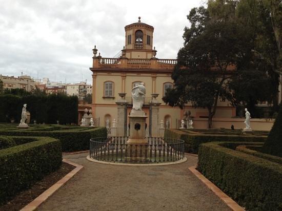 Jardines de Monforte: palacete