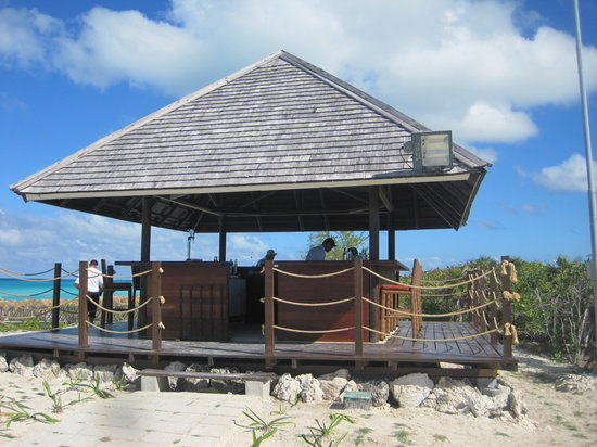 Royalton Cayo Santa Maria: Beach bar/Bar de la plage