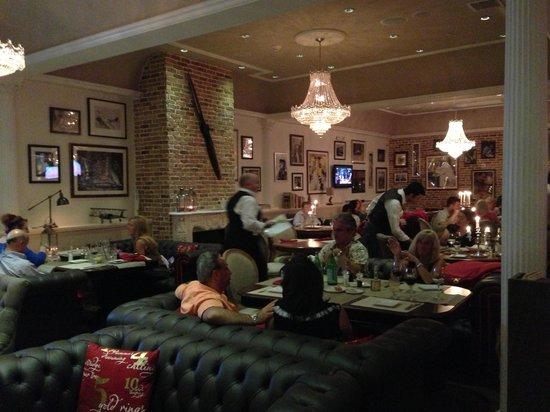 Voodka's dining room side