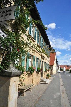Der Schiller mitten in Wernsdorf