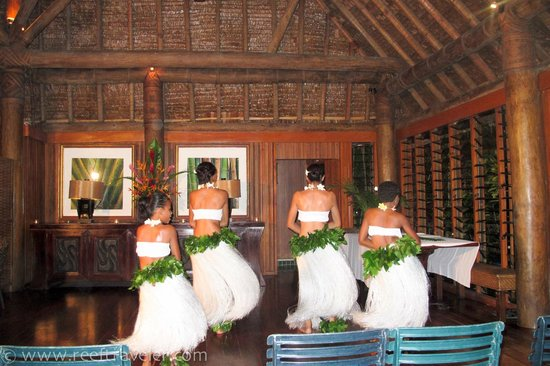 Namale the Fiji Islands Resort & Spa: Dancers - One of the Happy Hour Activities