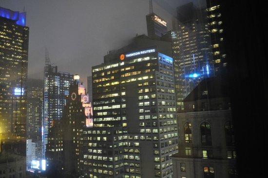 Hilton Times Square: depuis notre chambre 31ème étage