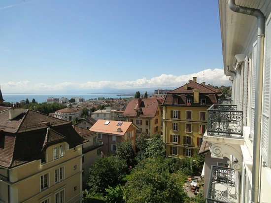 Lausanne Guesthouse & Backpacker: View from a double room