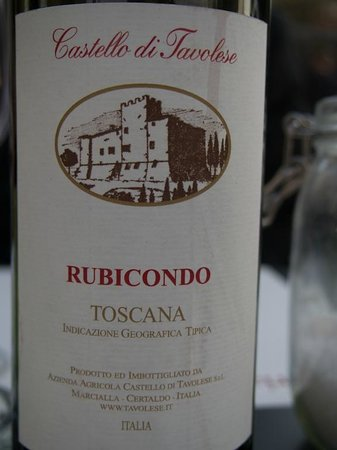 Osteria del Milione: Wine we had