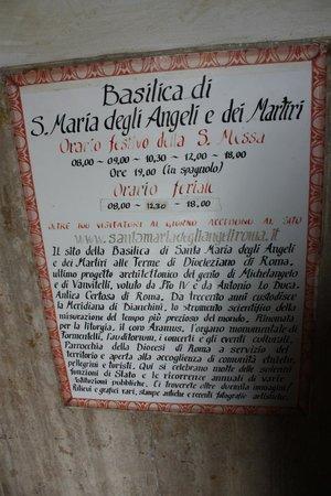 Basilica di Santa Maria degli Angeli e dei Martiri: about