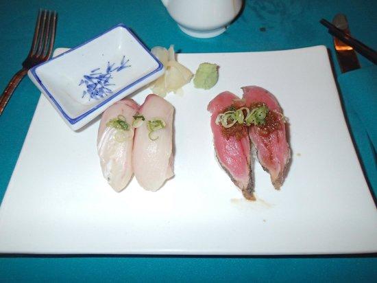 Upstairs at the RipJack Inn: Sushi night