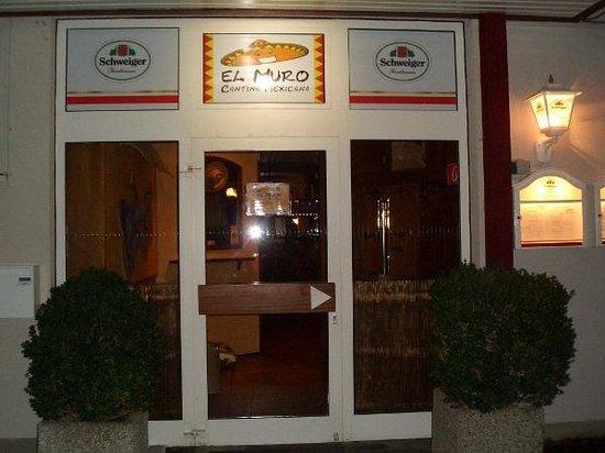 El Muro: Der Eingang nicht zu verfehlen