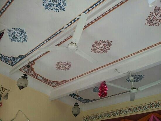 Devi Niketan Heritage Hotel:                   roof of the meal area