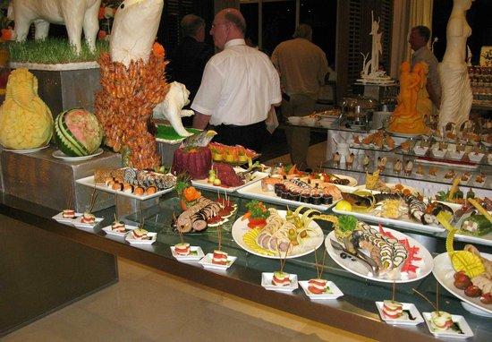 Steigenberger Makadi:                   New Year Eve Gala starter area - Very nice