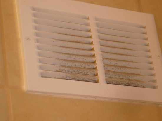 Embassy Suites by Hilton Charleston - Historic Charleston:                   Dirty bathroom Vent