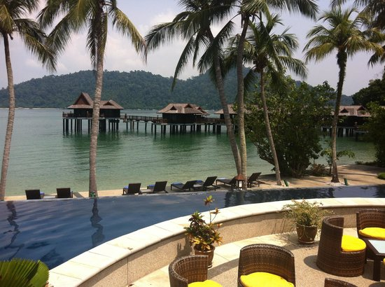 Pangkor Laut Resort:                   Peaceful surroundings and atmosphere.