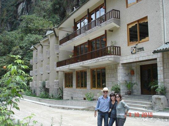 SUMAQ Machu Picchu Hotel:                   Fachada do Hotel