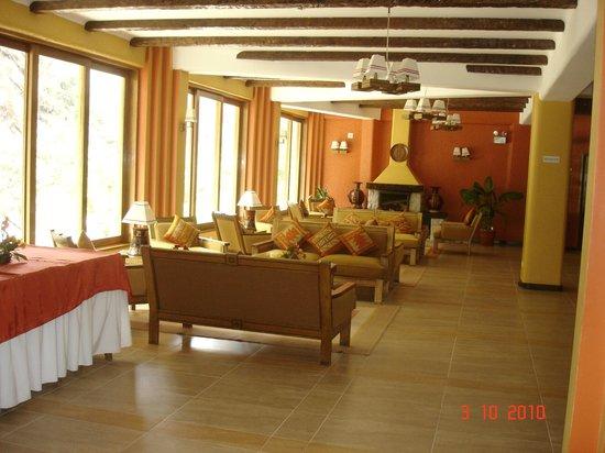 SUMAQ Machu Picchu Hotel:                   Sala de estar do Hotel