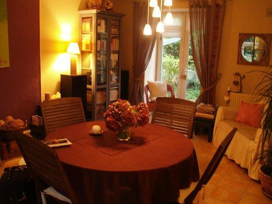 Le Jardin de Catherine: la sala colazione