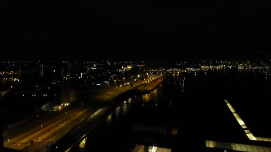 Movenpick Hotel Amsterdam City Center:                   View from room on 12th floor