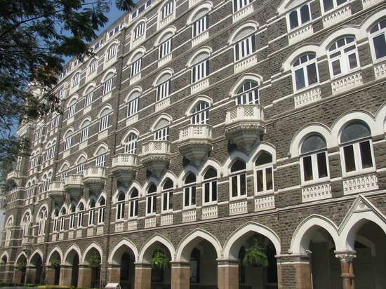 Colaba: The Taj Mahal hotel builit by an Indian refused accommodation in the British Watson's Hotel