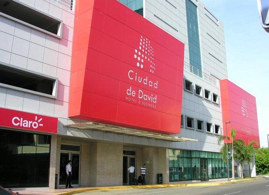 Hotel Ciudad de David: Fachada del Hotel