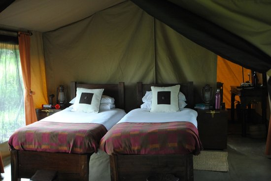 Dunia Camp, Asilia Africa: Inside of the tent