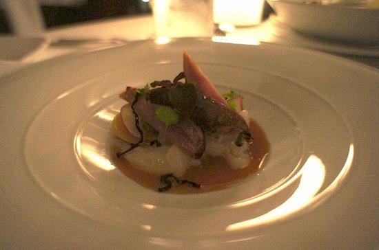 Prime Steak Restaurant : quail to start