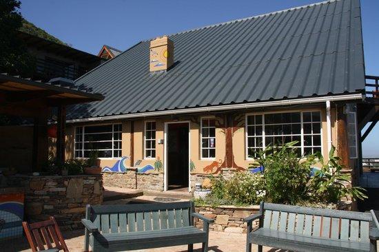 Wilderness Beach house: Rezeption und Küche