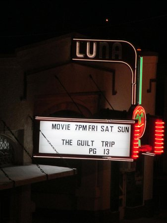 Hotel Eklund:                   Luna movie theatre across street