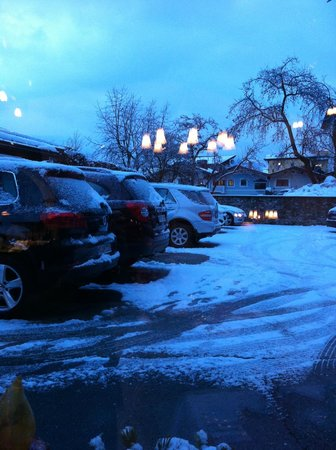 Gasthof Eggerwirt:                   the parking