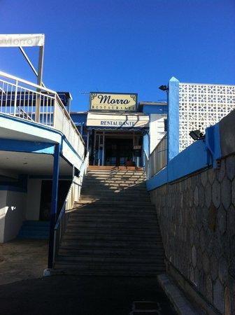 Restaurante El Morro: Entrada Restaurante