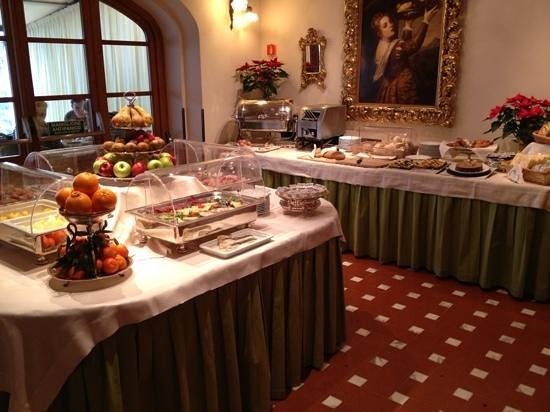 Villa Olmi Firenze: Breakfast Buffet
