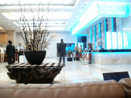 Haeundae Centum Hotel:                   hotel reception