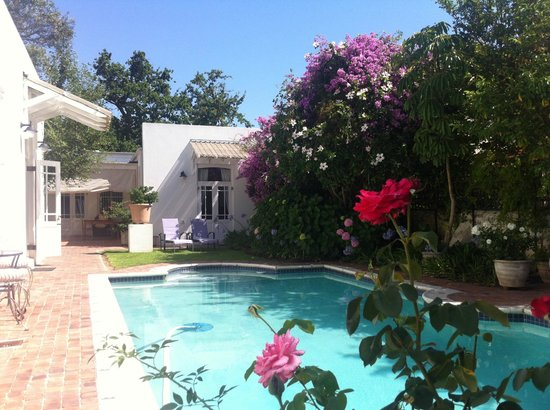 22 Die Laan Guest House:                   best place to be in hot summer of Stellenboosch