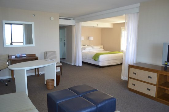 Hyatt Regency Mission Bay: bedroom with a very comfortable bed