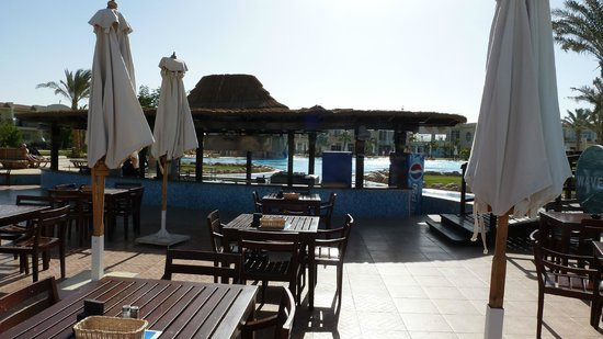 Hilton Sharks Bay Resort: Swim-Up Bar 1