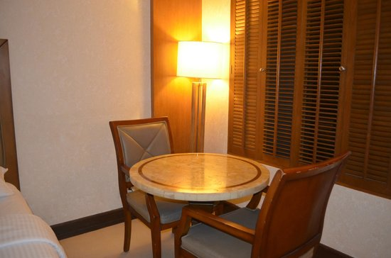 Henann Regency Resort & Spa:                   Table and chair