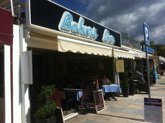 Bakers Bar - frontage